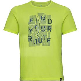 Odlo BL Millennium Element - Camiseta Running Hombre - verde